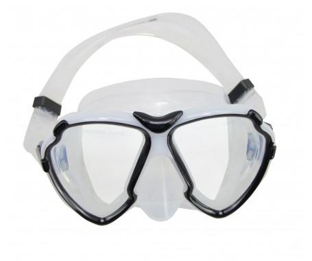 Silicone Dive Mask - (MZDSDM3-BK)