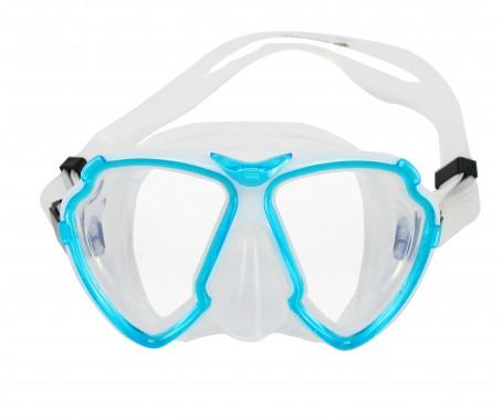 Silicone Dive Mask - (MZDSDM3-TBL)