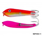 Fishing Spoon with Double Hooks (Size: 2)- MZFSD2-XX
