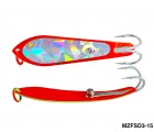 Fishing Spoon with Double Hooks (Size: 3)- MZFSD3-XX