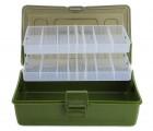 Two Layer Multifunctional Fishing Tackle Box - MZTB-06