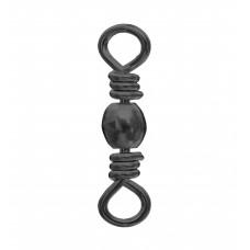 Brass Barrel Swivel-Black Nickel Plated - BBS-BKP-XX