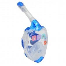 Full-Face Snorkel Mask - MZDFFM1-BL