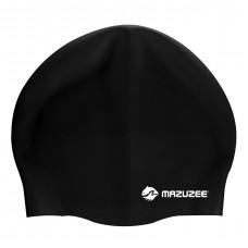 Adult Swim Cap (100% Silicone) - MZSC2-BK