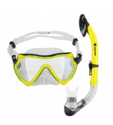 Snorkeling Set (Premium Silicone) - MZDCS1-YL