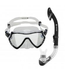 Snorkeling Set (Premium Silicone) - MZDCS1-BK