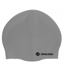 Adult Swim Cap (100% Silicone) - MZSC2-GY