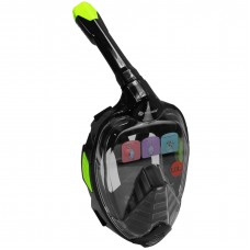 Full-Face Snorkel Mask - MZDFFM1-BK