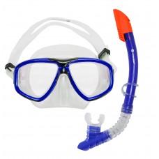 Snorkeling Set (Premium Silicone) - MZDCS2-BL