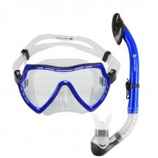 Snorkeling Set (Premium Silicone) - MZDCS1-BL