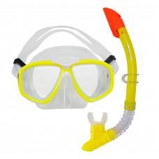 Snorkeling Set (Premium Silicone) - MZDCS2-YL