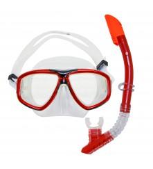Snorkeling Set (Premium Silicone) - MZDCS2-RD