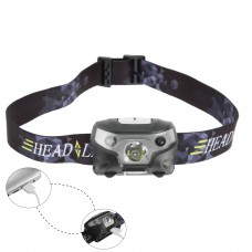 3W Cree LED USB Rechargeable Head Lamp - MZHLR01