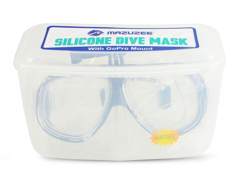 Silicone Dive Mask (With GoPro Mount)