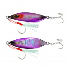 Jig Lure with Assist Hook and Treble Hook  (14G / 20G / 30G / 40G / 60G)