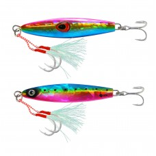 Jig Lure with Assist Hook and Treble Hook  (28G / 40G / 60G / 80G)