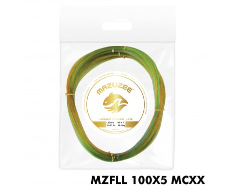 Leader Fishing Line (100 X 5 Coils Connected) - MZFLL