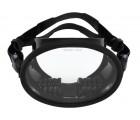 Oval Silicone Dive Mask - MZDSDM6-BK