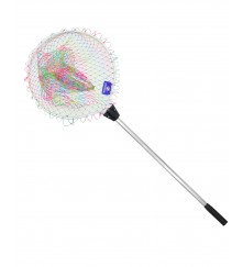 Fixed Handle Nylon Colorful Braided Net (153cm) - MZFN01-FNCB