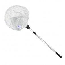 Telescopic Fishing Nylon Grey Braided Net (210cm) - MZFN01-NGB
