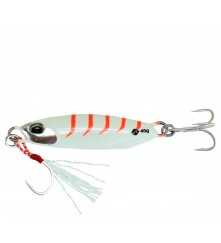 Jig Lure with Assist Hook and Treble Hook  (15G / 20G / 30G / 40G)