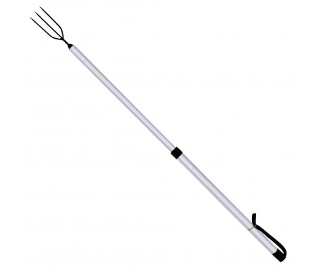 Telescopic Aluminum Spear - 120cm (Head Round Shape)