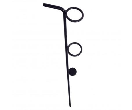 Iron Rod Stand (Black) - MZFARS-X
