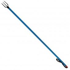 Iron-Blue Aluminum Spear - 120cm (Telescopic Round Head)