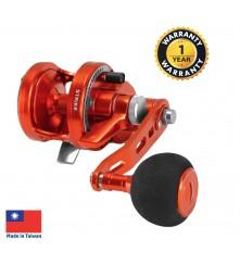 OMOTO - Talos (NTS-Series)  Sport Jigging Reel (Orange) - NTS10N-RH-HG-OE