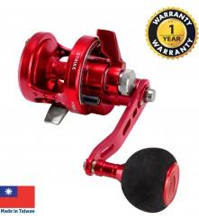 OMOTO - Talos (NTS-Series)  Sport Jigging Reel  (Red) - NTS10N-RH-HG-RD