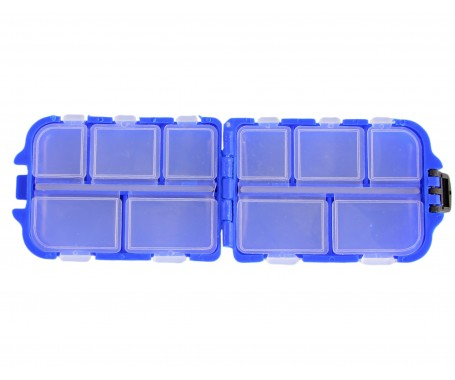 Fishing Tackle Box - 10 Compartments - MZTB-01