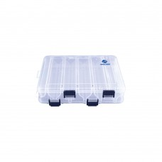 Double Sided Fishing Tackle Box - 10 Compartments