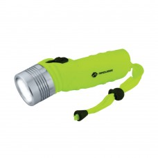 3W Super White LED Diving Torch - Aluminum Head - MZDT02