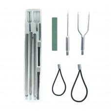 Spear Set & Accessories - 120cm (Multiple Round Heads)