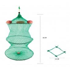 Nylon Fishing Basket - 65cm