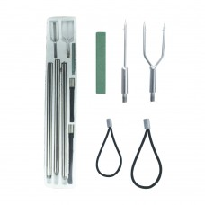Spear Set & Accessories - 120cm (Multiple Round Heads)