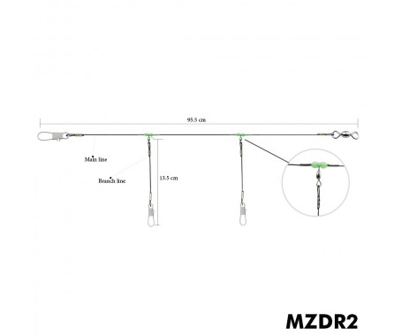 Drop Rig 2 arms & 3 arms - MZDRX