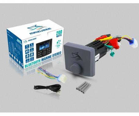 Mazuzee 200W Bluetooth Marine Stereo - MZBMSS