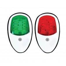 LED Navigation Side Light Pair - (MZMNL3-01W)