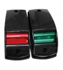 Navigation Side Light Red & Green Pair - (00194-BK)