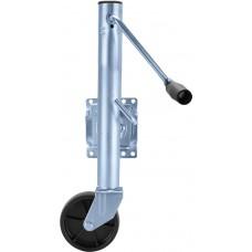 TJ-1000 Zinc  Trailer Jack Single Wheel - TJ-1000 ZINC / TJ-1000 BK
