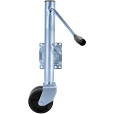 TJ-1500 Zinc Trailer Jack Dual Wheel - TJ-1500 ZINC / TJ-1500 BK
