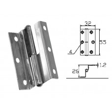 Stainless Steel Hinge 304 Model No: 52522