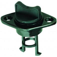 """Black Plastic Drain Plug - Size: 1"""" Model: 40097-BK"""