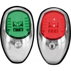 LED Navigation Side Light Red & Green Pair - (C91106S-B)