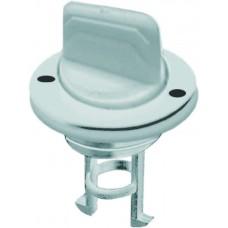 "White Plastic Drain Plug - Size: 1"""
