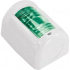 LED Mini Green Starboard Navigation Light - (00011-WHLD)