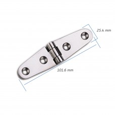 Strap Hinge - AISI 316 Model No: 80180-01