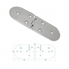 Heavy Duty Hinge S.S  316 Model No: 81011-01/1
