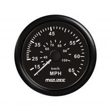 Speedometer 65MPH - Black - JY18203